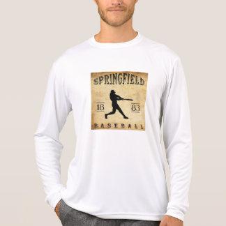 Basebol 1883 de Springfield Illinois T-shirt