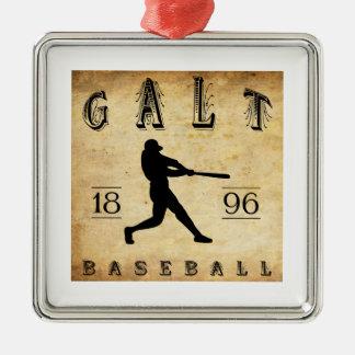 Basebol 1896 de Galt Ontário Canadá Ornamento Para Arvores De Natal