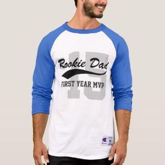 Basebol do MVP de Primeiro-Ano do recruta do novo T-shirt