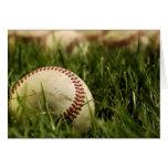 Basebol nostálgicos cartao
