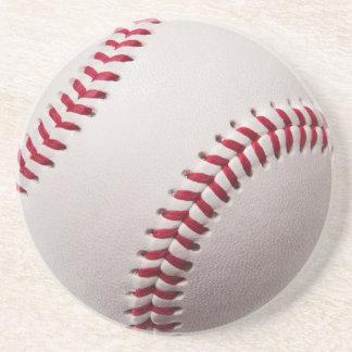 Basebol - personalize o modelo do fundo do basebol porta copos de arenito