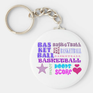 BASKETBALL-BASKETBALL-BASKETBALL-10x10 Chaveiro