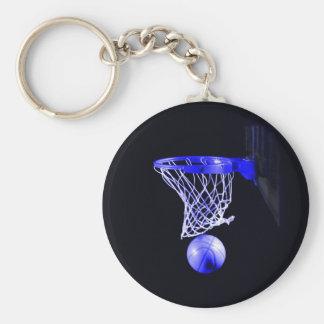 Basquetebol azul chaveiro