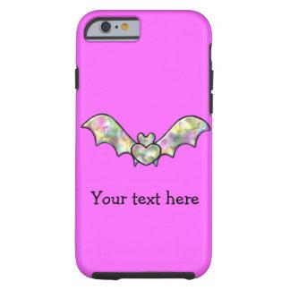 Bastão e coração cor-de-rosa do Dia das Bruxas Capa Tough Para iPhone 6