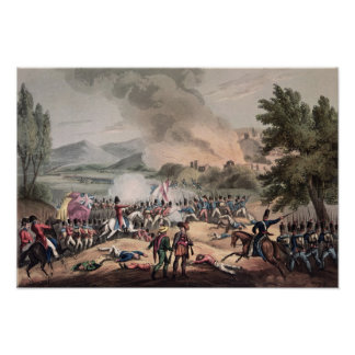Batalha de Pombal, gravada por Thomas Sutherland Posters