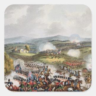 Batalha de sutiãs de Quatre, o 16 de junho de Adesivo Quadrado