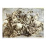Batalha do anghiari de Arezzo Cartão Postal