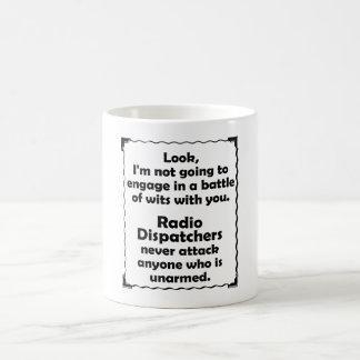 Batalha do expedidor de rádio das sagacidades caneca de café
