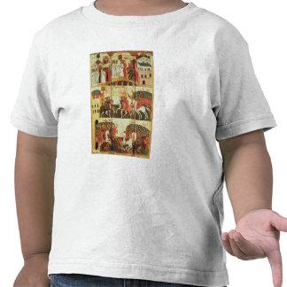 Batalha entre o Novgorodians e o Suzdalians Camisetas