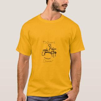 Baterista diferente um tshirts