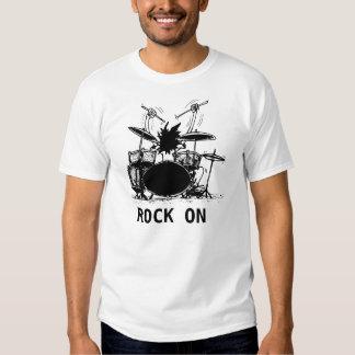 Baterista, ROCHA SOBRE T-shirts
