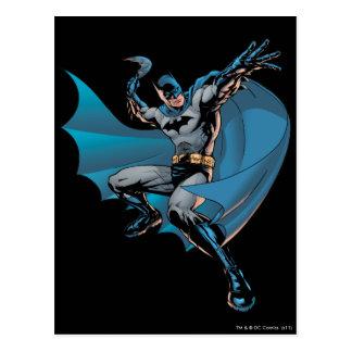 Batman pronto para jogar cartão postal