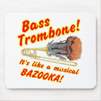 Bazooka baixo do Musical do Trombone Mouse Pad