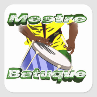 BBaC Stiker Mestre Batuc Samba Batucada Brasil