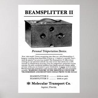 Beamsplitter II. Posters