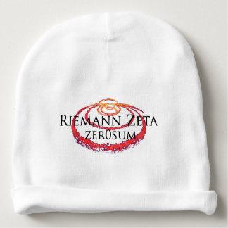 Beanie do bebê do Zeta de Riemann Gorro Para Bebê
