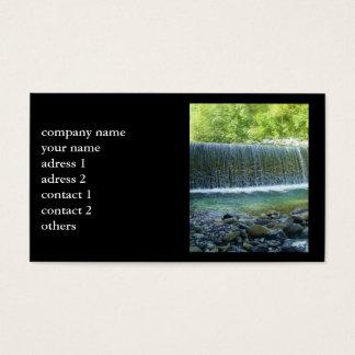 Beautiful Waterfall negócio Cards Cartão De Visitas