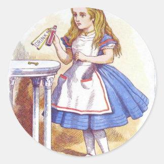 Beba-me, Alice! Adesivo