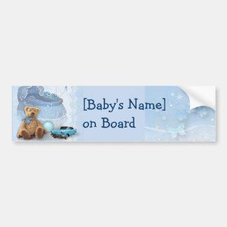 Bebê a bordo (customizável) adesivo para carro
