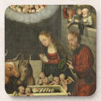 Bebê adorador Jesus dos pastores por Cranach Porta-copos