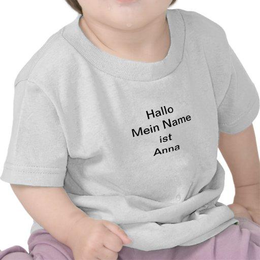 Bebé alpargata - Anna Camiseta