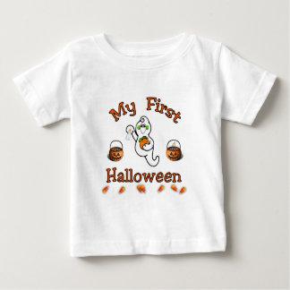 Bebê do Dia das Bruxas T-shirts