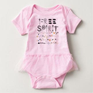 Bebê do espírito livre tshirts