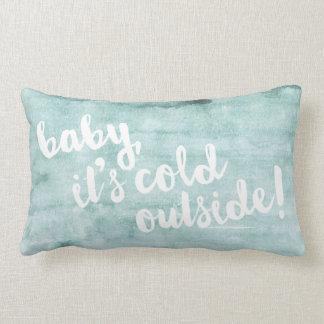 bebê, é parte externa fria! Travesseiro da Almofada Lombar