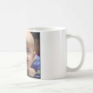 bebê engraçado caneca