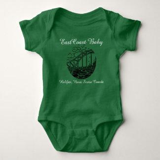 Bebê Halifax Nova Escócia Canadá da costa leste Camiseta