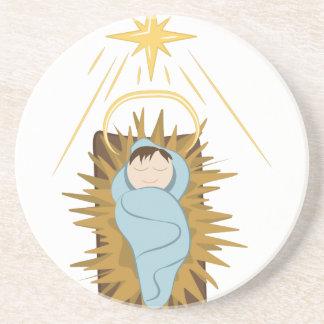 Bebê Jesus Porta-copos