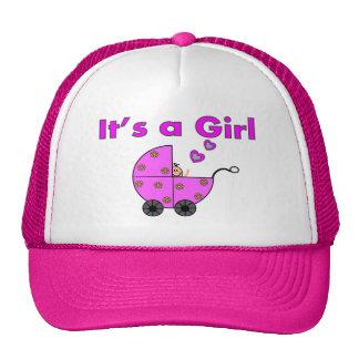 """Bebê novo """"é presentes de uma menina"""" boné"""