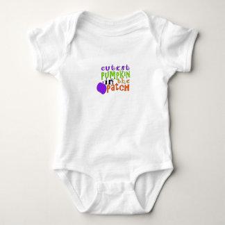 Bebê o Dia das Bruxas, abóbora, o Dia das Bruxas Tshirts