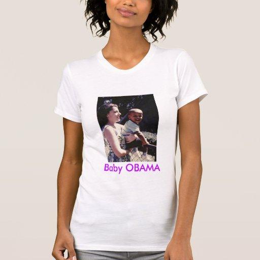Bebê OBAMA Tshirt