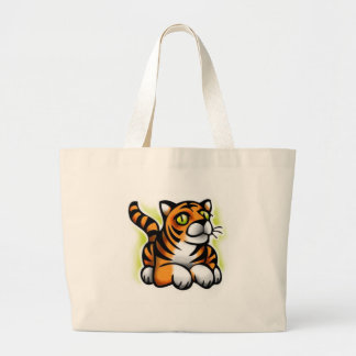 bebê-tigre bolsa tote grande