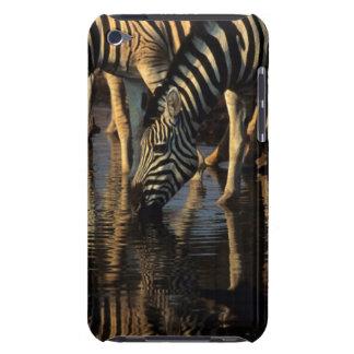 Bebendo do rebanho das zebras das planícies capa iPod barely there