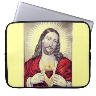 Behold a bolsa de laptop do cristo bolsas e capas para computadores