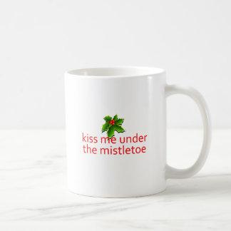 beije-me caneca de café