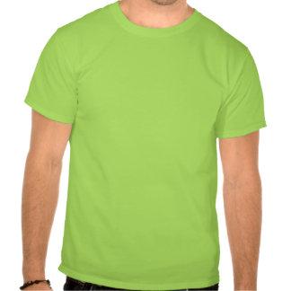 Beije-me que eu sou camisa irlandesa de T, homens T-shirt