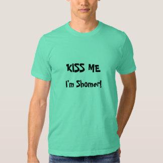 Beije-me que eu sou homens de Shomer- T-shirt