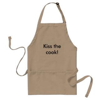 Beije o cozinheiro! avental