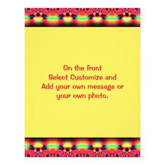 beira preta amarela vermelha colorida modelos de panfleto