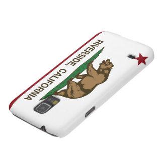Beira-rio da bandeira de Califórnia Capas Par Galaxy S5