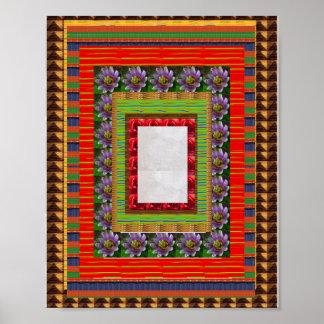 Beiras decorativas bonitas:  o cadeau derrama tous pôster