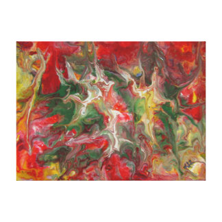 Belas artes contemporâneas modernas da pintura