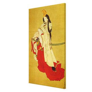 Belas artes do japonês de Shirabyōshi Hokusai Impressão Em Tela