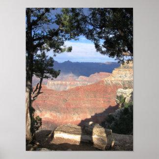 Beleza de Sedona - paisagem Poster