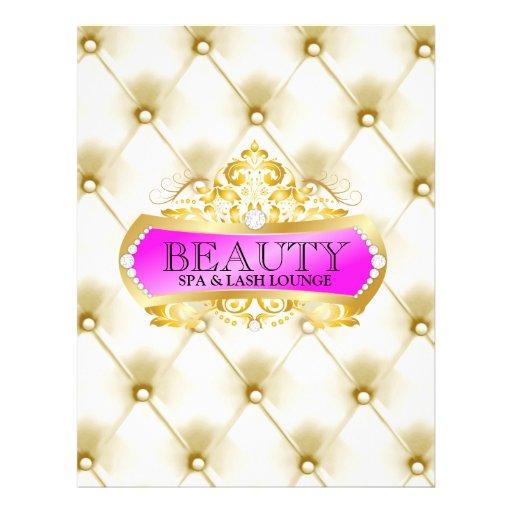 Beleza do ouro 311 panfletos personalizado