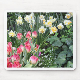 Beleza floral mouse pad