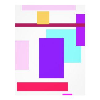 Beleza linear panfletos personalizado